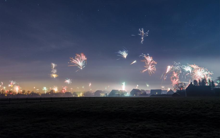 Mein Lieblingsbild aus der Silvesternacht 2015 zu Neujahr 2016 Fotografie Jonas Hartz Gütersloh OWL Bielefeld Photography Landschaftsfotografie