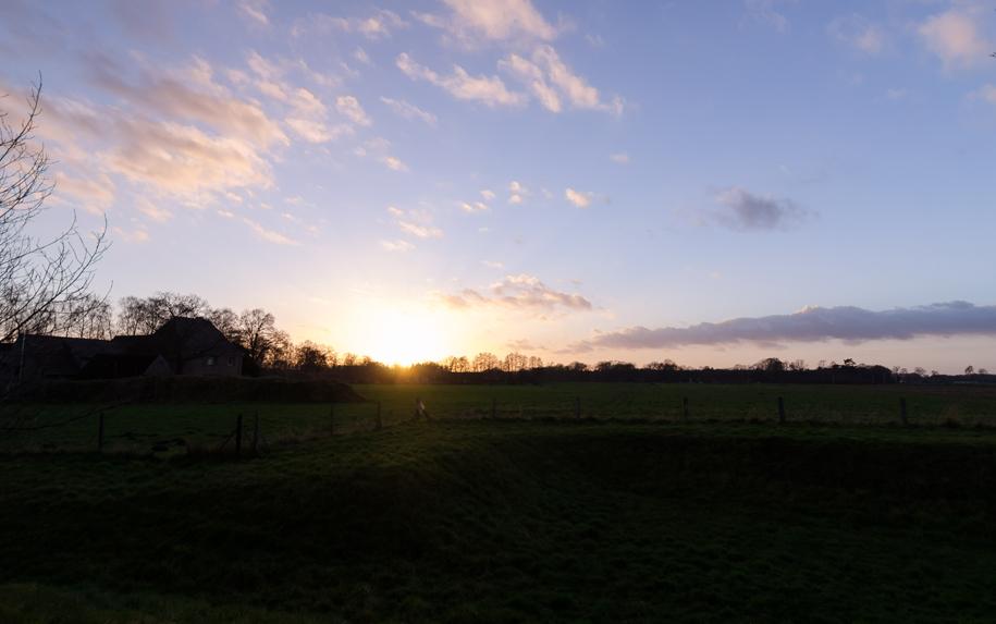 Der letzte Sonnenuntergang im Jahr 2015 Fotografie Jonas Hartz Gütersloh OWL Bielefeld Photography Landschaftsfotografie Makrofotografie Pflanzen